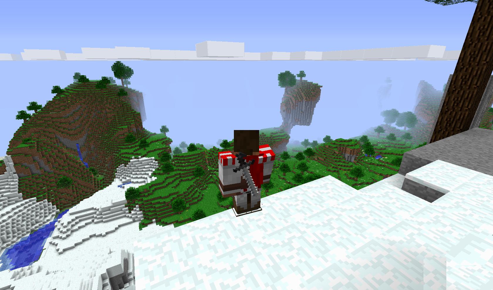 Клиент Сервер Minecraft 1 2 5 С Модами От Dragonx 50 Модов 0 12
