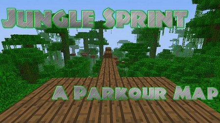 Jungle Sprint - Р° parkour map