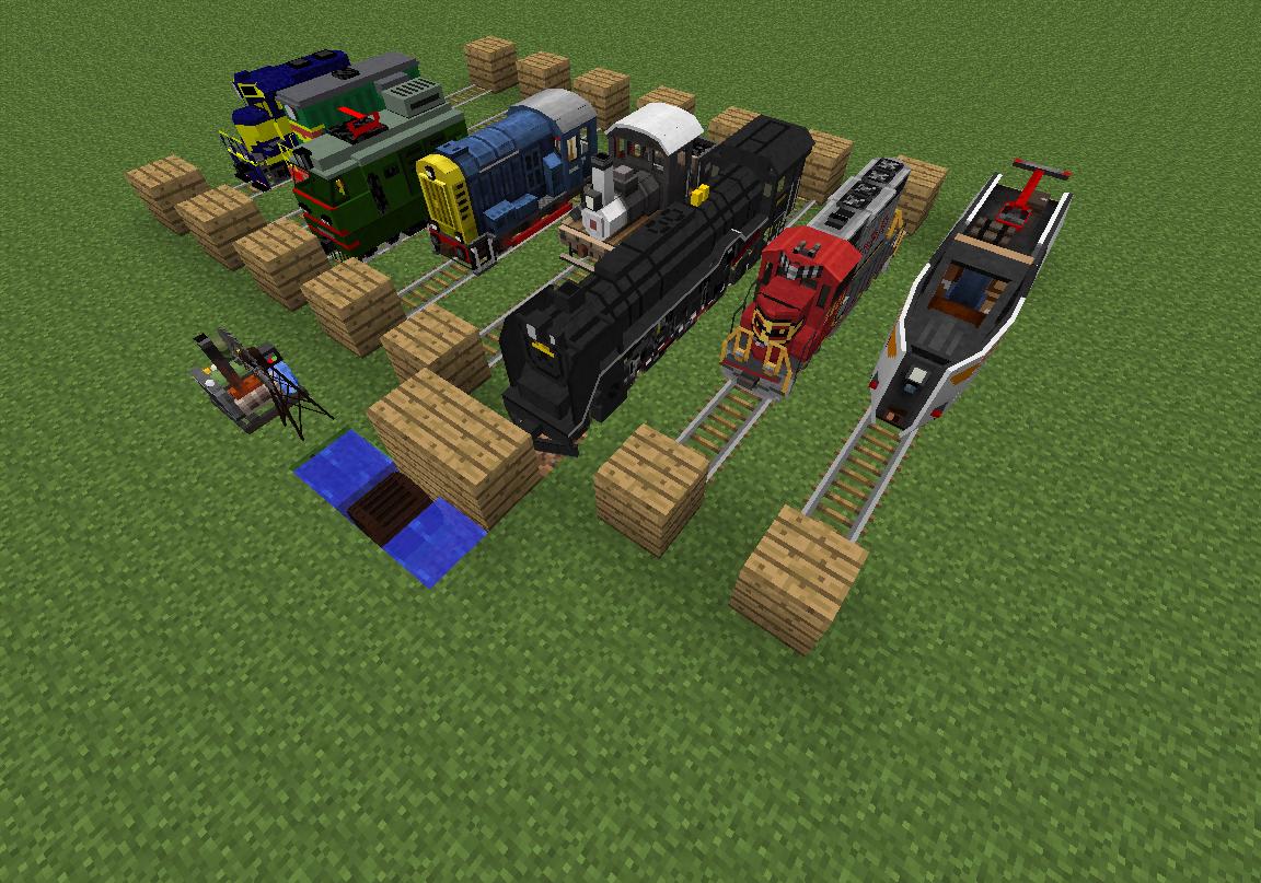 Как устоновить мод railcraft на майнкрафт 1.6.4